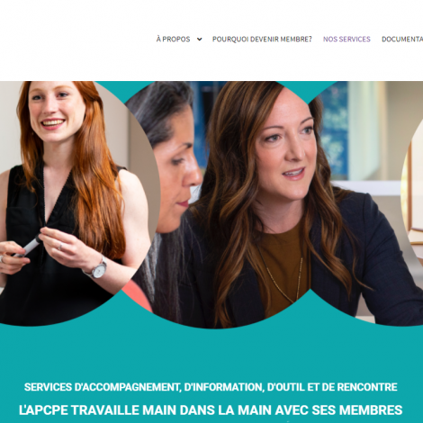 l'Association patronale des Centres de la petite enfance (APCPE), une association d'employeurs qui représente 65 CPE de la région de Montréal et Laval
